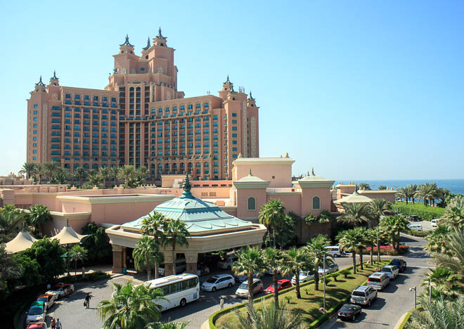 Lyxhotellet Atlantis The Palm
