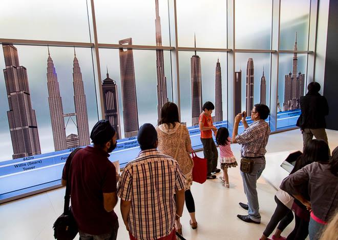 Entrén till Burj Khalifa