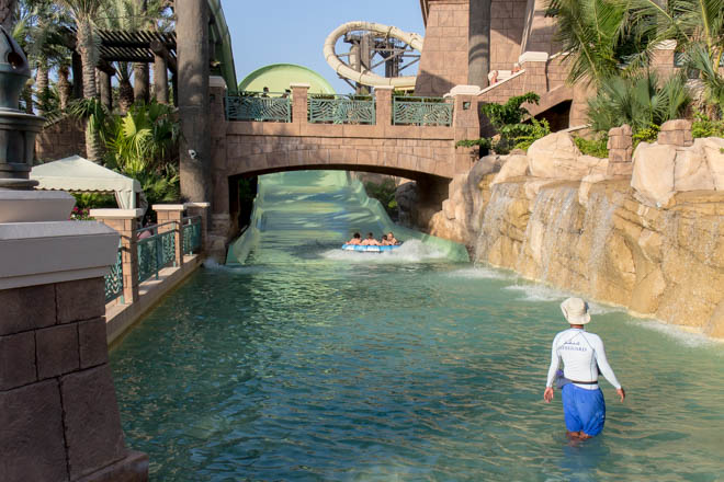 Vattenrutschbanor, Aquaventure Dubai